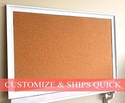 office pinboard. full image for modern framed cork board kitchen organizer artwork display white pinboard home office