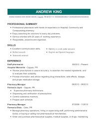 Best Compounding Pharmacist Resumes Resumehelp