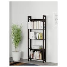 ... Exciting Leaning Bookcase Ikea Horizontal Bookcase Black Leaning  Bookcase With Books And Plant: ...