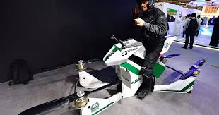 <b>Dubai police</b> force adds hoverbikes for emergency response