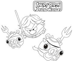 Small Picture Angry Birds Star Wars Coloring Pages For Girls 2BirdsPrintable