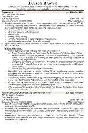 Sample Contract Specialist Resume Government Contract Specialist Resume Resume For Study 15