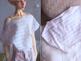 Bjd White Bat Shirt Sd17 Sd13 Zaoll Minifee Yosd