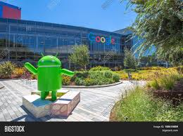 Mountain View, California, USA - August 15, 2016: Android Nougat Replica In  H