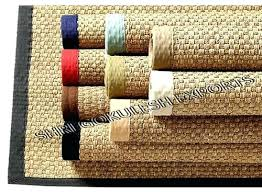 seagrass mat matting rug flooring squares
