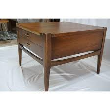 bassett furniture mid century end table chairish for coffee tables inspirations 26