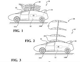 Vehicle Body Design Pdf Toyota Files Flying Car Patent