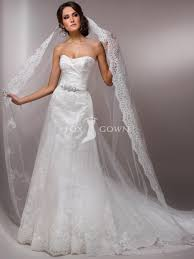 Tulle A Line Wedding Gown With Rhinestoned Halter And Waist