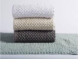 pebbled chenille bath rug runner