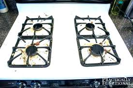 stainless steel stove top best cleaner how to clean a oven on glass