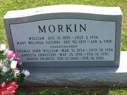 Mary Melinda Quinn Morkin (1871-1968) - Find A Grave Memorial