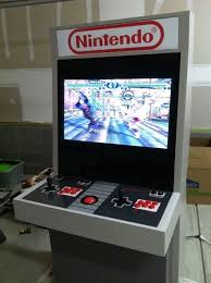 mystery smelly feet s nintendo themed arcade cabinet powered by mame