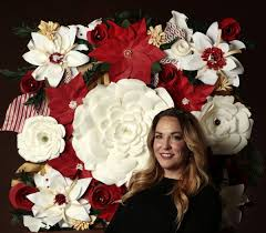 Paper Flower Business Made In St Louis Paper Floral Art Business Is A Bed Of Roses