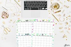 printable calanders free half size printable calendars for 2018