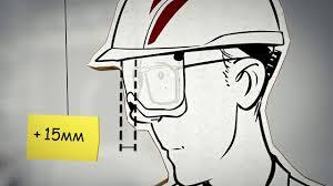 Каска V-Gard®930 со встроенными <b>защитными очками</b> - YouTube