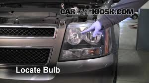 2011 Suburban Daytime Running Light Bulb How To Preview Replace Turn Signal Headlight Brights And Dtr On A 2008 Avalanche Suburban Tahoe