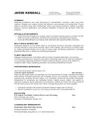 Writing Job Objectives For Resumes Objective Resume On