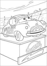 Kleurplaten Van Cars Voor Beginners