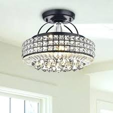 drum light with crystals up your home this antique black shade crystal semi pendant fixtures cr white drum pendant light black 1 and shade