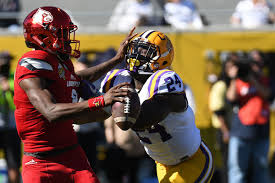 Lsu 2017 Depth Chart Lsu Spring Football 2017 Linebackers And The Valley Shook