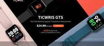 "Gearbest on Twitter: ""  <b>TICWRIS GTS Real-time</b> Body Temperature ..."