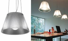 starck lighting. Romeo Moon S1 Medium Suspension Lamp Starck Lighting