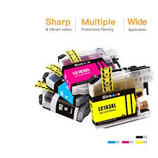 This universal printer driver works with a range of brother inkjet devices. E Z Ink Tm Compatible Ink Cartridge Replacement For Brother Lc 103xl Lc103xl Lc103 Xl Lc103bk Lc103c Lc103m Lc103y To Use With Dcp J152w Mfc J245 2 Black 1 Cyan 1 Magenta 1 Yellow 5 Pack Snapklik