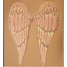 angel wings on bronze mirror mirrored frame angel wings