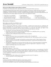 95 Example Hospitality Resume Objective Resume Career