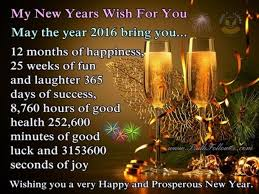 Happy New Year To My Family And Friends Quotes
