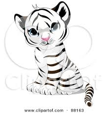 baby tiger clipart black and white.  Tiger Throughout Baby Tiger Clipart Black And White C