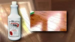 Sanding New Hardwood Floors Refinish A Hardwood Floor No Sanding No Mess Youtube