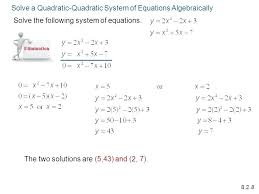 solving quadratic equations by graphing worksheet