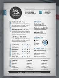 Bistrun Graphic Designer Resume Template Vector Free Download