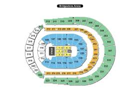 Alabama Florida State Seating Chart Bridgestone Arena Seating