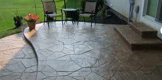 stamped concrete patio with fire pit cost. Stamped Concrete Patio With Fire Pit Cost C