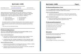 Resume Format 2 Pages 2 Page Resume Template Download Examples Of