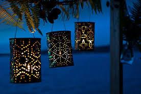 Lanterne Per Esterni Da Giardino : Come riciclare le lattine di alluminio borse gioielli e cornici