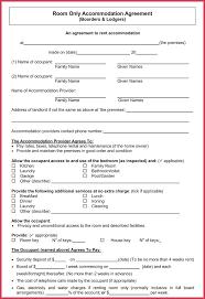 Room Rental Agreement Sample Lease Free Roommate – Stiropor Idea