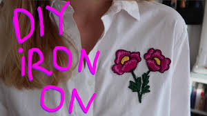 diy embroidered appliques make your own iron on patches
