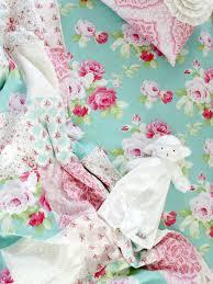 morning rose crib sheet