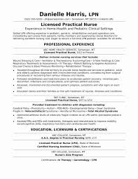 Sample Of Rn Resume Luxury Sample New Grad Rn Resume Awesome New