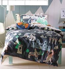 knights dragons and castle toddler bedding hiccups 100 cotton