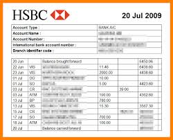 Sample Bank Statements Template 16 Bank Statement Templates Free Sample Example Format Excel Bank