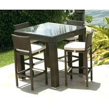 patio chairs bar height outdoor pub sets with swivel chairs bar height outdoor table creative of