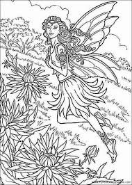 Small Picture Detailed Fairy Coloring Pages Kids Coloring Detailed Fairy
