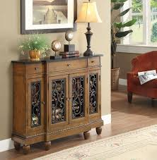 metal hall table. Acme Vidi Oak Wood Drawer Accent Console Table Metal Hall