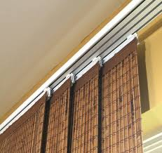 bamboo curtains for sliding glass doors