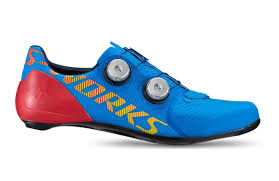 Specialized Mtb Shoes Size Chart Specialized S Works 7 Basics Blue Road Cycling Shoes 2020