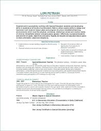 Special Education Resume Samples Writing Instruments Free Teacher ...